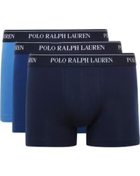 Polo Ralph Lauren - Three-pack Stretch-cotton Jersey Boxer Briefs - Lyst