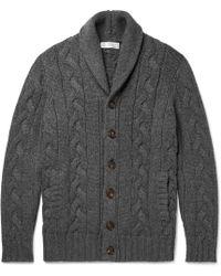 Brunello Cucinelli - Cable-knit Cashmere Cardigan - Lyst
