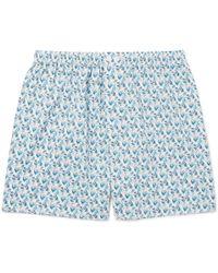 Zimmerli | Metropolitan Printed Cotton-poplin Boxer Shorts | Lyst