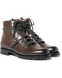 Berluti - Brunico Leather Boots - Lyst