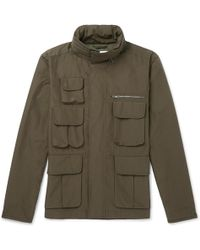 MR P. - Water-repellent Cotton-blend Ripstop Field Jacket - Lyst