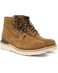 Visvim - Virgil Suede Boots - Lyst