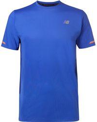 New Balance - Ice 2.0 Mesh T-shirt - Lyst