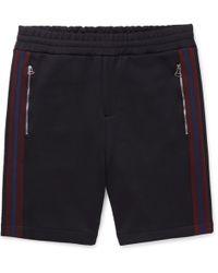 JOSEPH - Striped Scuba-jersey Shorts - Lyst