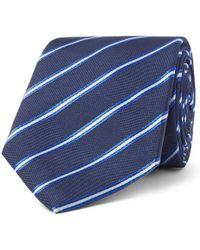 BOSS - 7.5cm Striped Silk-jacquard Tie - Lyst