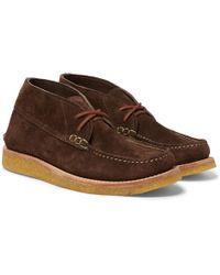 Yuketen - Suede Desert Boots - Lyst