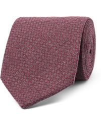 Oliver Spencer - 8cm Two-tone Cotton-jacquard Tie - Lyst