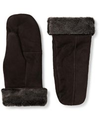 Dents - Inverness Shearling Mittens - Lyst