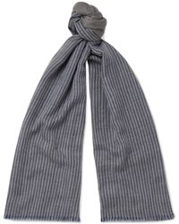Loro Piana - Striped Cashmere Scarf - Lyst