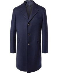 Boglioli - Slim-fit Double-faced Virgin Wool Coat - Lyst