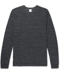 RAG&BONE Standard Issue Mélange Loopback Stretch-cotton Jersey Sweatshirt - Gray ruABo