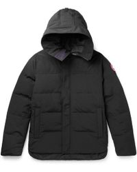 Canada Goose - Macmillan Quilted Shell Hooded Down Parka - Lyst