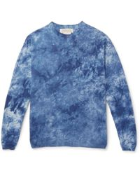 Remi Relief - Tie-dyed Linen T-shirt - Lyst