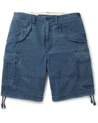 Polo Ralph Lauren - Washed Cotton-ripstop Cargo Shorts - Lyst