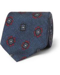 Loro Piana - 7cm Printed Silk Tie - Lyst