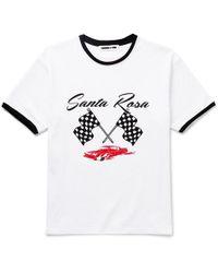 McQ - Santa Rosa Printed Cotton-jersey T-shirt - Lyst