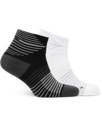 Nike - Two-pack Performance Lightweight Quarter Dri-fit Socks L - Lyst