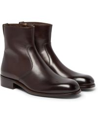Tom Ford | Icon Wilson Leather Boots | Lyst