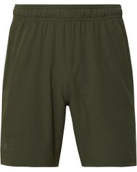 Under Armour - Cage Mesh-trimmed Stretch-shell Shorts - Lyst