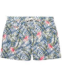 Hartford - Mid-length Printed Swim Shorts - Lyst