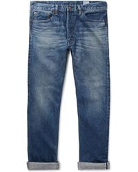 Orslow - 107 Slim-fit Washed Selvedge Denim Jeans - Lyst