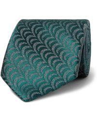 Charvet - 7.5cm Silk-jacquard Tie - Lyst