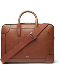Mulberry - Belgrave Full-grain Leather Briefcase - Lyst