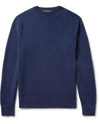 Rag & Bone - Mélange Shetland Wool-blend Jumper - Lyst