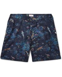 Derek Rose - Mid-length Printed Swim Shorts - Lyst