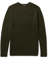 Theory - Enzo Ribbed Cashmere Jumper - Lyst