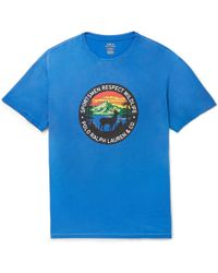Polo Ralph Lauren - Wildlife Printed T-shirt - Lyst