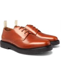 Common Projects - Cadet Leather Derby Shoes - Lyst