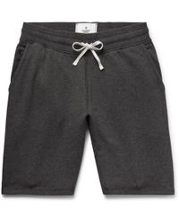 Reigning Champ - Loopback Cotton-jersey Drawstring Shorts - Lyst