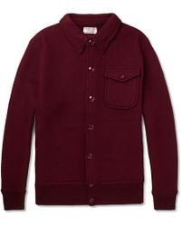 J.Crew | Eisenhower Felted Wool Bomber Jacket | Lyst