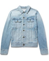Rag & Bone - Faded Denim Jacket - Lyst