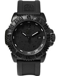 Luminox - Colourmark 3051 Carbon-reinforced Stainless Steel And Rubber Watch - Lyst