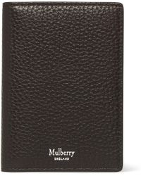Mulberry - Full-grain Leather Billfold Cardholder - Lyst
