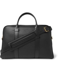 Tom Ford - Full-grain Leather Briefcase - Lyst