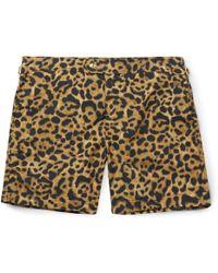 Tom Ford - Mid-length Printed Swim Shorts - Lyst