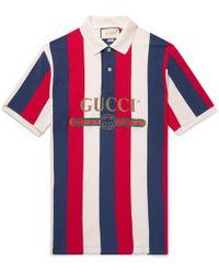 a55d0a0b Gucci - Logo Baiadera Polo - Lyst