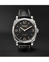 Officine Panerai - Radiomir 1940 3 Days Automatic Titanio 42mm Stainless Steel And Alligator Watch - Lyst