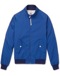 Golden Bear - Poplin Blouson Jacket - Lyst