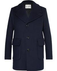 SALLE PRIVÉE - Scott Slim-fit Virgin Wool-blend Overcoat - Lyst