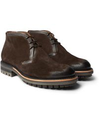 Berluti | Burnished-suede Chukka Boots | Lyst