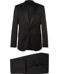 BOSS - Black Housten Glorius Virgin Wool Suit - Lyst
