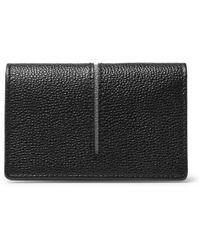 Tod's - Pebble-grain Leather Cardholder - Lyst