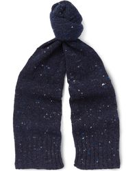 Anderson & Sheppard - Donegal Wool And Cashmere-blend Scarf - Lyst