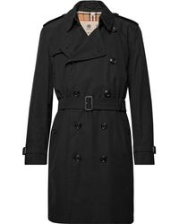 Burberry - Kensington Cotton-gabardine Trench Coat - Lyst