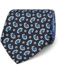 Etro - 7cm Reversible Silk-jacquard Tie - Lyst