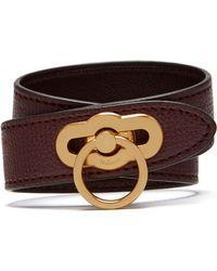 Mulberry - Amberley Double Bracelet - Lyst
